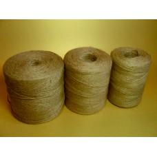 Шпагат джутовый 420 м, 1,68 ктекс (1680 текс), 700 гр, в упаковке 20 шт.