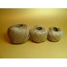 Шпагат джутовый 50 м, 1,12 ктекс (1120 текс), 55 гр, в упаковке 150 шт.