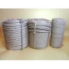 Веревка джутовая, диаметр 8 мм, длина 50 м, 2,5 кг
