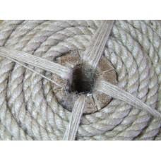 Веревка джутовая весовая, диаметр 8 мм, от 10 кг