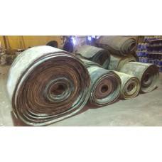 Лента конвейерная, транспортерная Б/У 1000х1000 мм (толщина 12-14 мм)