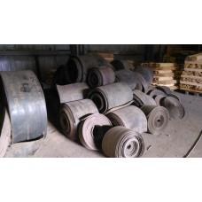 Лента конвейерная, транспортерная Б/У 500х1000 мм (толщина 12-14 мм)