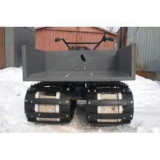 Лента конвейерная, транспортерная Б/У 400х1000 мм (толщина 12-14 мм)